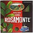 Yerba Mate Caja 50 unid Rosamonte