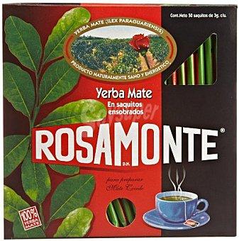 Rosamonte Yerba Mate Caja 50 unid