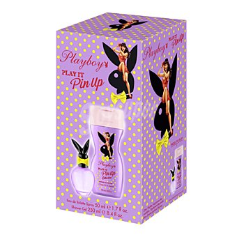 PlayBoy Estuche colonia Pin up 50 ml. + gel 250 ml. 1 ud
