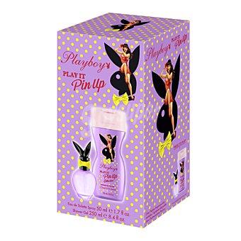 Playboy Fragrances Estuche colonia Pin up 50 ml. + gel 250 ml. 1 ud