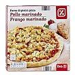 Pizza de pollo marinado Envase 350 gr DIA