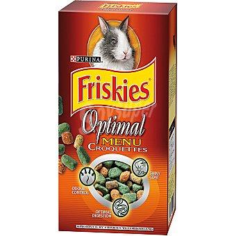 Friskies Purina Optimal Menu Croquettes para conejos enanos Paquete de 400 g