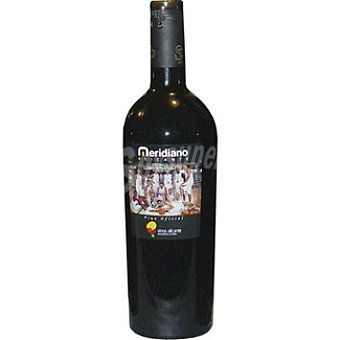 MERIDIANO Vino tinto Alicante Botella 75 cl