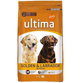 AFFINITY ULTIMA Golden & Labrador Retriever Alimento para perros adultos Bolsa 7,5 kg