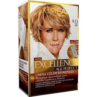 Excellence L'Oréal Paris Tinte age perfect nº 9.13 Rubio Camel 1 ud