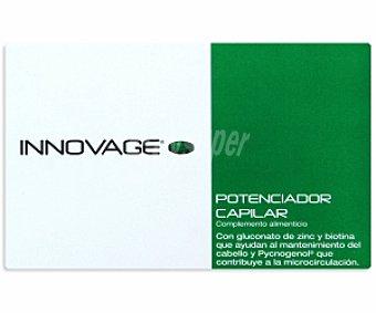 INNOVAGE Potenciador capilar, complemento alimenticio 30 C