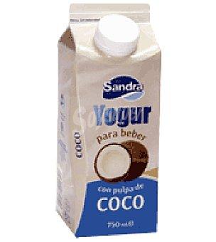 Sandra Yogur líquido con pulpa de coco 750 g