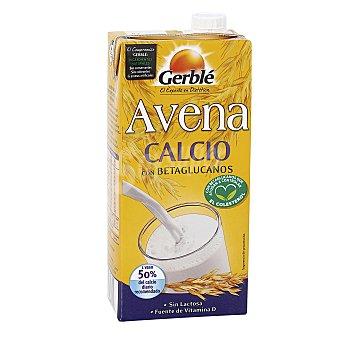 Gerblé Bebida de avena y calcio con betaglucanos sin lactosa envase 1 l
