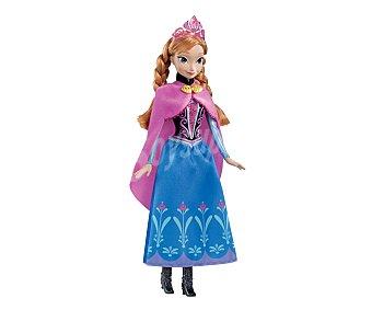 DISNEY Muñeca Frozen Princesa Anna con todos los Detalles 1 Unidad
