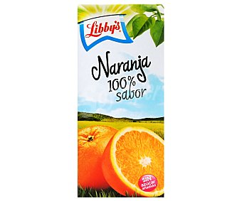 Libby's Zumo de naranja Brick de 1 litro