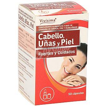 VIVISIMA+ Cabello uñas piel Envase 50 capsulas