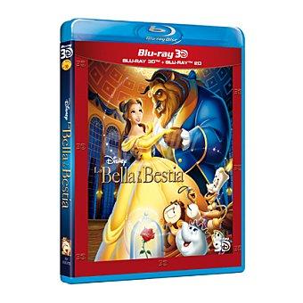 Disney La Bella y la Bestia Blu-Ray 3D 1 ud