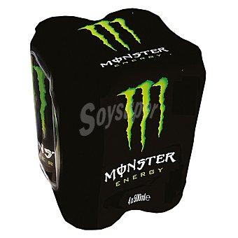Monster Energy Bebida energética  Pack 4 x 50 cl