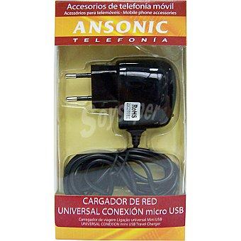 ANSONIC ES99CV135AN Cargador de viaje micro USB