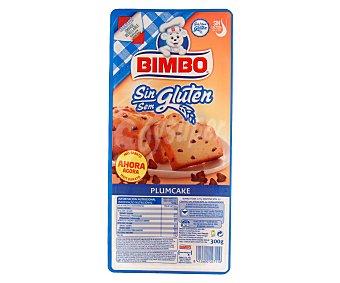Bimbo Plumcake sin gluten (pastel con pepitas de chocolate) 300g