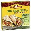 Kti fajitas Old El Paso sin gluten y sin lactosa 462 g Old El Paso