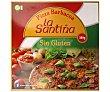 Pizza barbacoa elaborada sin gluten 380 g La Santiña
