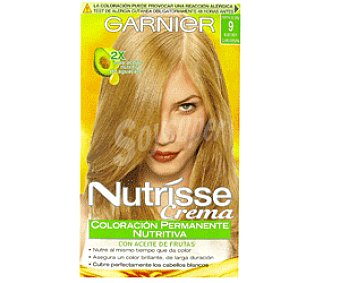 Nutrisse Garnier Tinte Coloración Pepita de Oro (rubio muy Claro) Nº 9 1u
