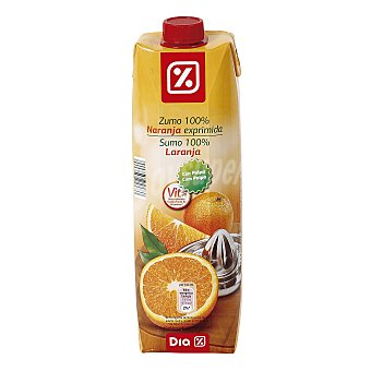 DIA Zumo exprimido naranja Envase 1 lt