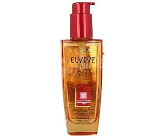 Elvive L'Oréal Paris Aceite capilar extraordinario sublimador del color cabello con volumen color intenso  Frasco de 100 ml