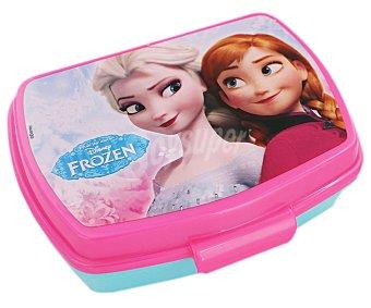 Disney Recipiente rectangular con diseño Frozen, 16x11x5,5 centímetros, modelo Frozen Timeless Porta Sandwich Frozen 1 unidad