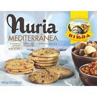 Birba Galleta Nuria Mediterránea Caja 400 g
