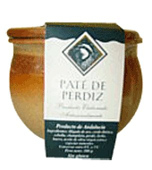 La Real Carolina Pate perdiz tarrina de barro 300 g