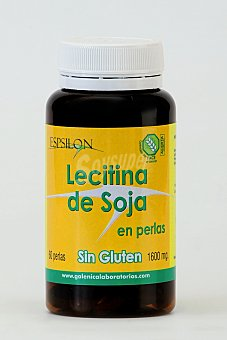 Espsilon Lecitina de soja 60 perlas sin gluten 96g