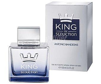 Antonio Banderas Colonia de caballera con vaporizador King of seduction  100 ml