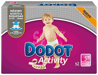 Dodot Dodot Activity Pañales Talla 5, 13-18kg, 54 uds 54 ud