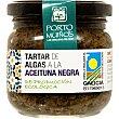 Tartar de algas a la aceituna negra de producción ecológica  lata 180 g Porto Muiños