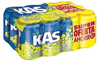 Kas Refresco de limón Pack de 12x33 cl