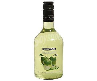 Frutaysol Licor de manzana sin alcohol Botella de 70 cl