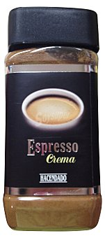 Hacendado Cafe soluble espresso crema PET 160 g