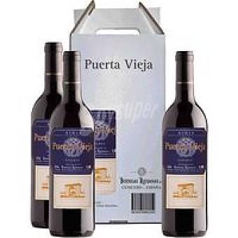 Puerta Vieja Vino Reserva Rioja Pack 4x75 cl