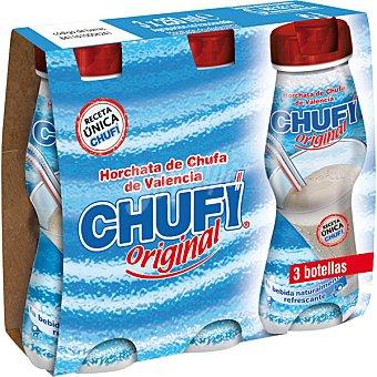 CHUFI Original Horchata de chufa de Valencia Pack 3 botellas 250 ml