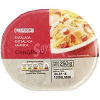 Eroski Ensalada de cangrejo Tarrina 250 g