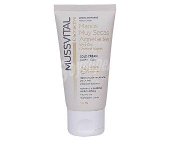 Mussvital Crema de manos con avena para manos muy secas o agrietadas Dermactive 50 ml
