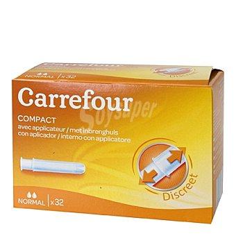 Carrefour Tampones con aplicador Normal 32 ud