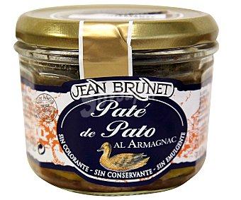 JEAN BRUNET Paté de pato tarrina de 180 gramos