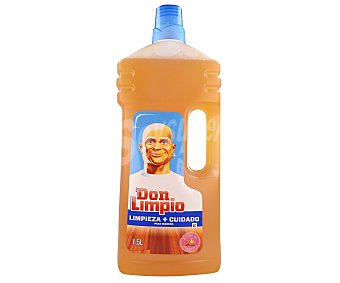 Don Limpio Limpiahogar madera Botella 1,5 litros