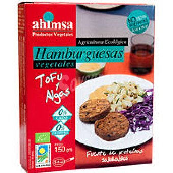 Biosurya Hamburguesa vegetal tofu algas 150 gr