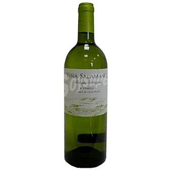VIÑA SALAMANCA Vino blanco joven de la tierra de Castilla y León Botella 75 cl