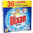 Detergente máquina en polvo Maleta 36 lavados  Dixan
