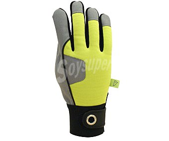 Auchan Par de guantes de jardineria cotidiana para hombre, de la talla 9 1 unidad