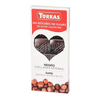Torras Choco negro avellanas - Sin Gluten 150 g