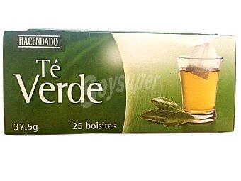 Hacendado Te verde Caja de 25 bolsitas - 37.50 g