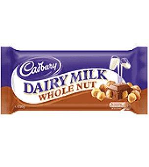 Cadbury Chocolate whole nut 250 g