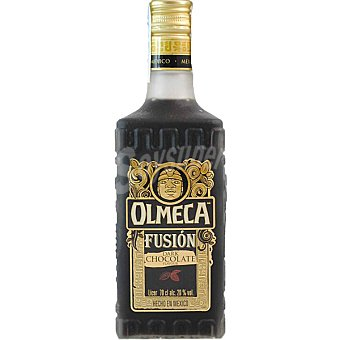 OLMECA Fusión Licor de chocolate Botella 70 cl