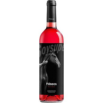 Pirineos Vino rosado D.O. Somontano Botella 75 cl
